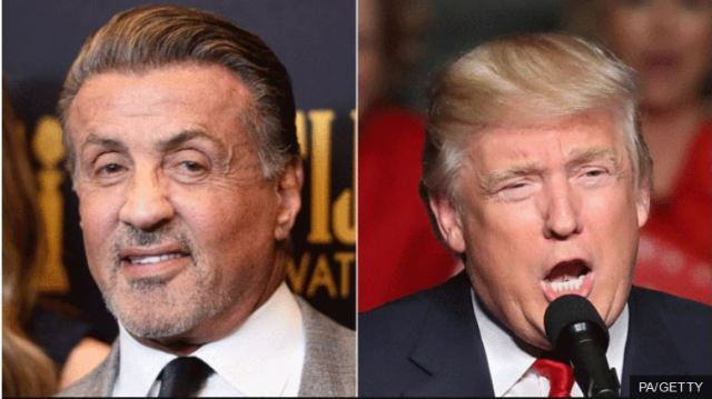 Could Sylvester Stallone become part of Donald Trump's team?