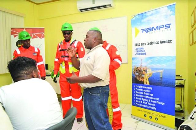 El Dorado Offshore pooling skills for oil industry   INews Guyana