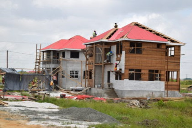 Over 150 housing units slated for 2018- CH&PA   INews Guyana Guyana Flat House Design In Concrete on flat house in canada, flat houses us, flat house in cambodia, flat houses in spain, flat house in latvia, flat houses in trinidad, flat house with garage, flat house in singapore, flat houses in london, flat house design,