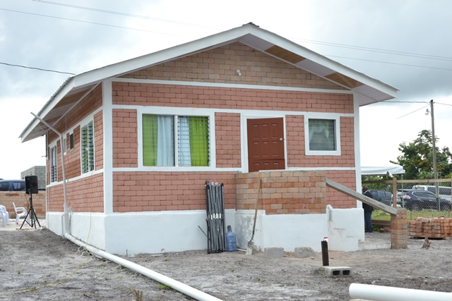LEN introduces low cost homes built from bauxite waste | INews Guyana