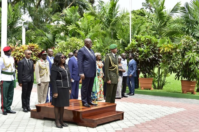 Ghana president Akufo-Addo calls on Guyana opposition leader 2
