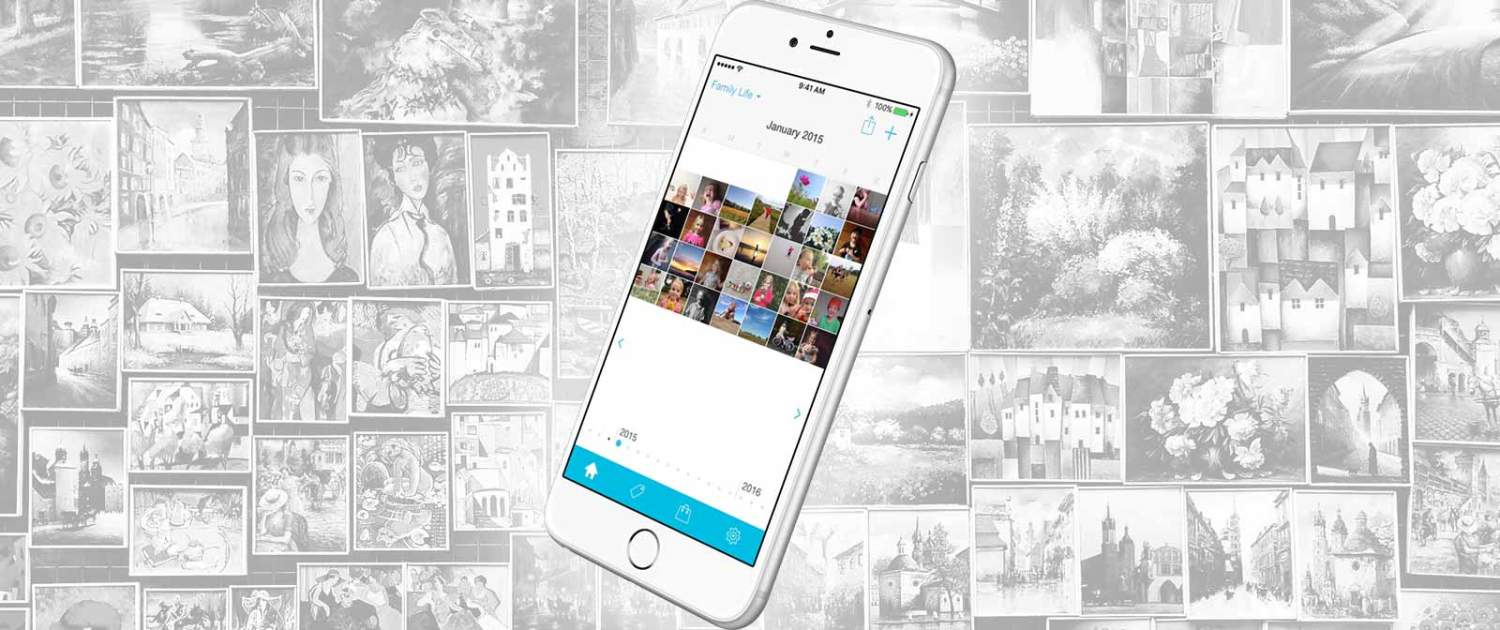 Collect: Photo a Day   iPhone application   Case Study   Inexika
