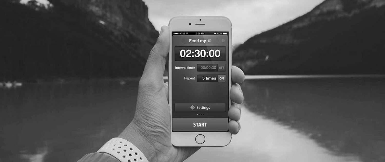 Repeat Timer | Приложение для iPhone | Проекты | Айнексика