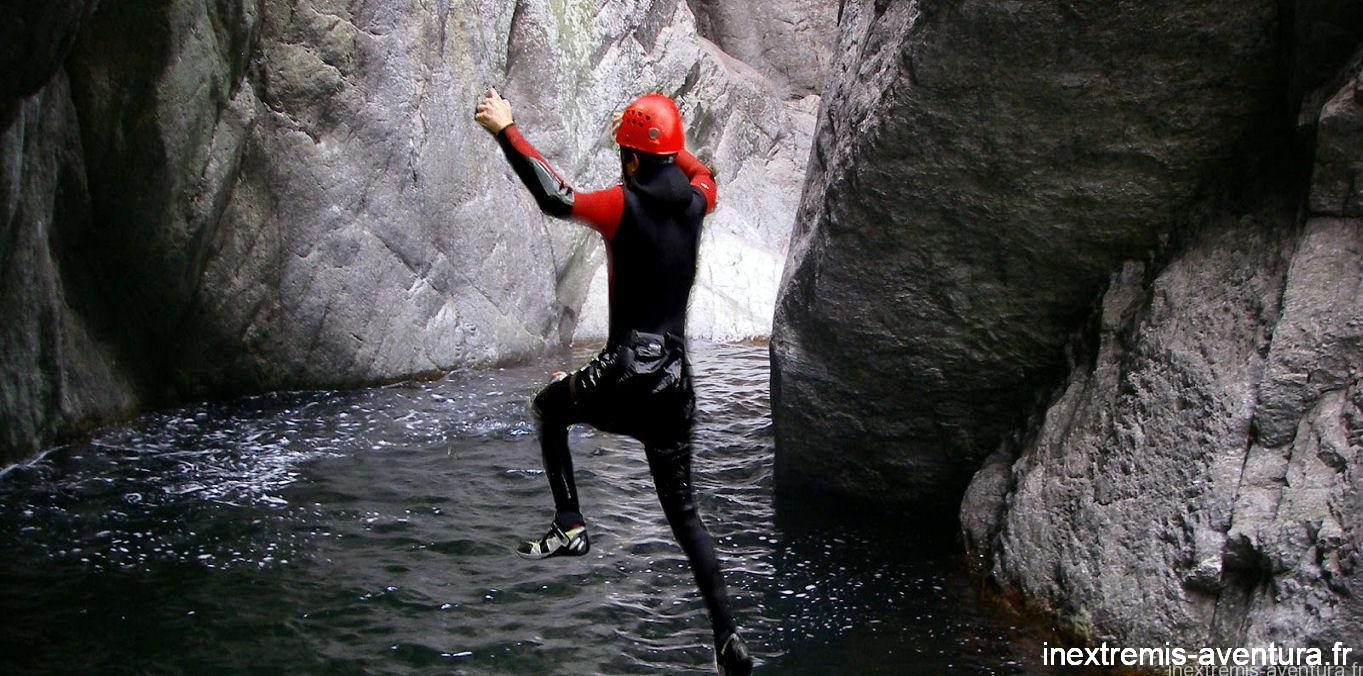 canyoning gourg des anelles - Pyrénées Orientales