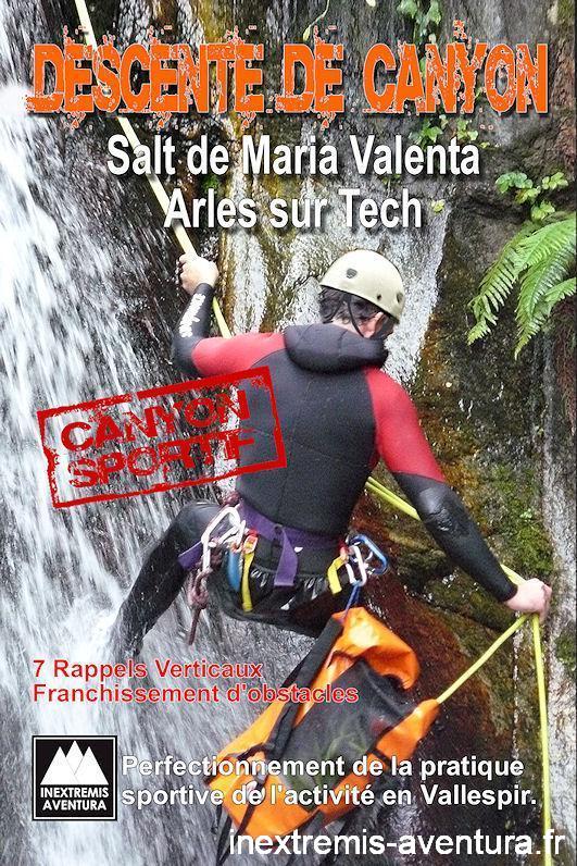canyoning Maria Valenta - Jean Vilallongue