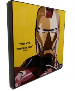 Iron Man 1 Poster Yellow
