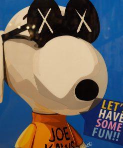 KAWS Snoopy Poster