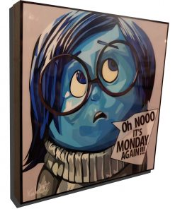 Sadness Inside Out Poster
