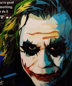 The Joker Heath Ledger Poster