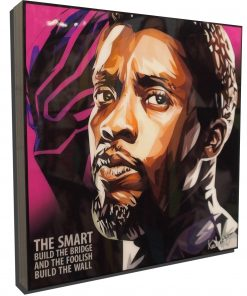Black Panther Poster Plaque