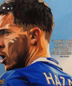 Eden Hazard Poster Plaque
