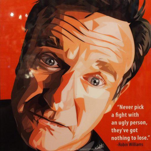 Robin Williams Poster Plaque