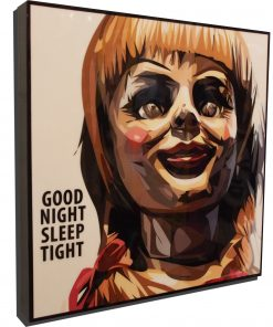 Annabelle Doll Poster Plaque