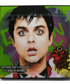Billie Joe Armstrong Pop Art Poster by Keetatat Sitthiket