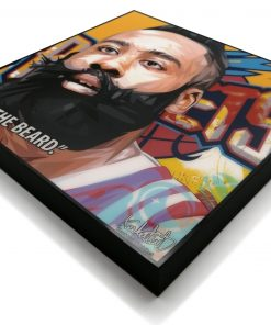 James Harden World Famous Pop Art Poster