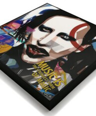 Marilyn Manson Pop Art Poster