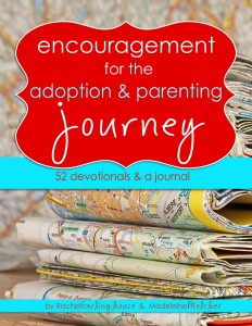 adoption devotional book cover
