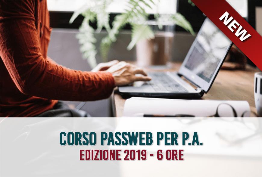 Corso PASSWEB 2019