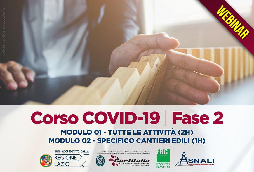 CORSO COVID-19 FASE 2