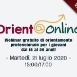 Orient@online – Webinar gratuito per i giovani dai 18 ai 29 anni