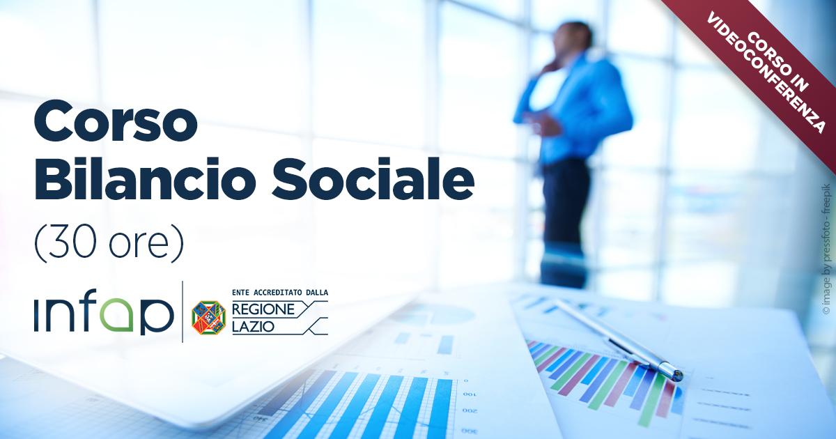 IL BILANCIO SOCIALE (30 ORE)