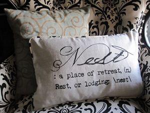 Pottery Barn Nest Pillow