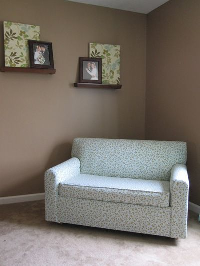 Reupholstered Love Seat