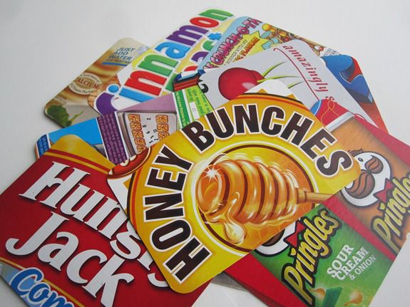 Cereal box crafts postcards infarrantly creative cereal boxes and other cardboard boxes they are plentiful easy to work with and make great postcards and what kid wouldnt want to receive or send ccuart Gallery
