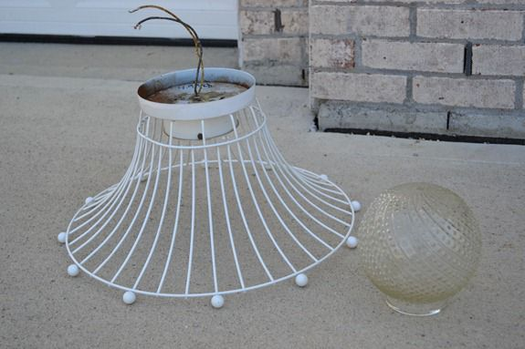 Industrial Wire Basket Light (3)