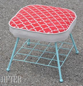 Stenciled Footstool (59)