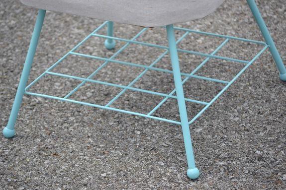 Stenciled Footstool (62)