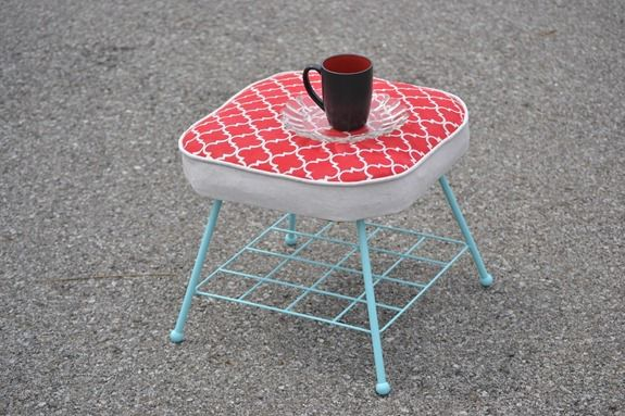Stenciled Footstool (63)