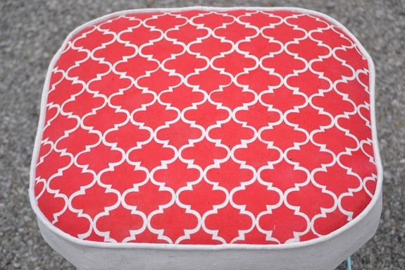 Stenciled Footstool (64)