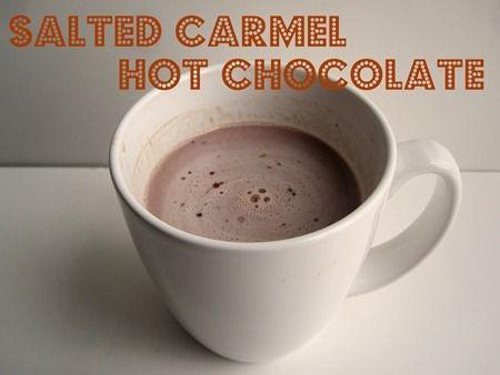 Salted Carmel Hot Chocolate