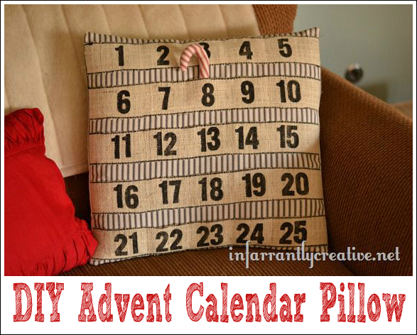 Countdown to Christmas Pillow