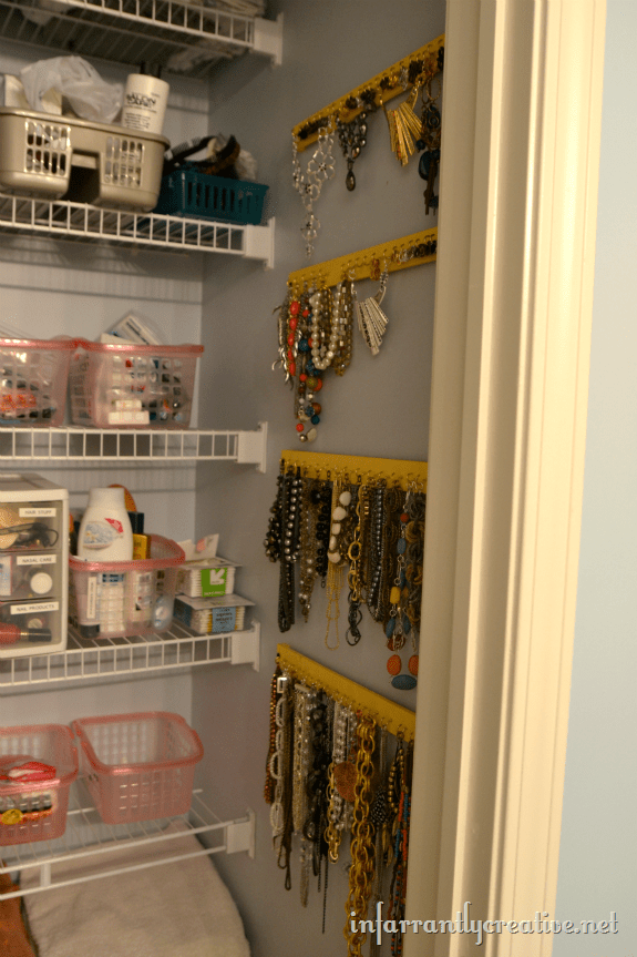hanging your jewelry