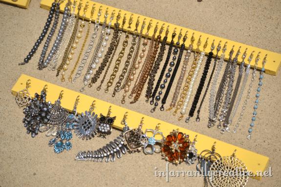 hanging jewelry
