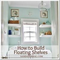 How to build floating shelves by Sand & Sisal_thumb[2]