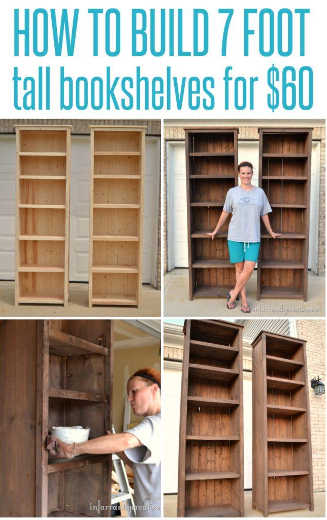 bookshelf building plans