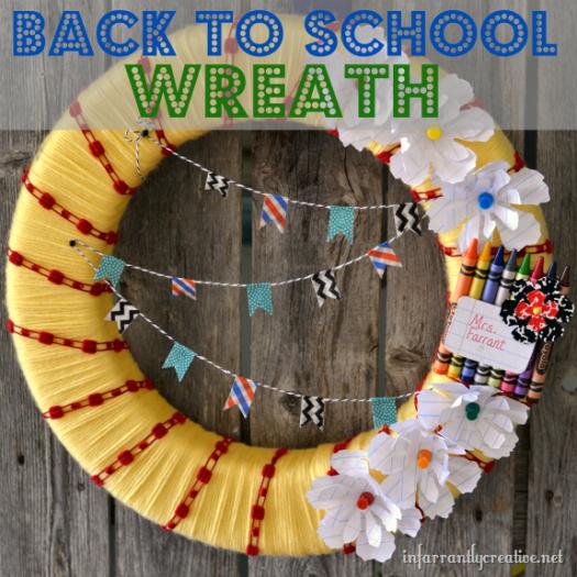 school wreath