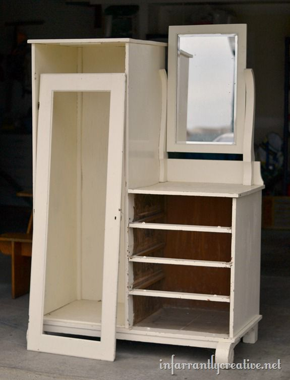New Jennifer mentioned she wanted to use it in a bathroom so I decided to make a standing bathroom cabinet