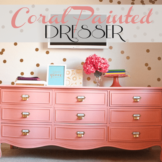 coral-painted-dresser
