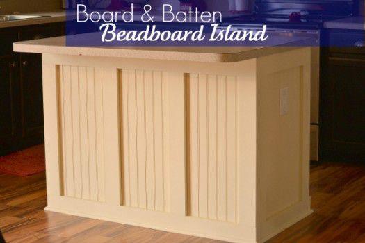 Infarrantly Creative beadboard island