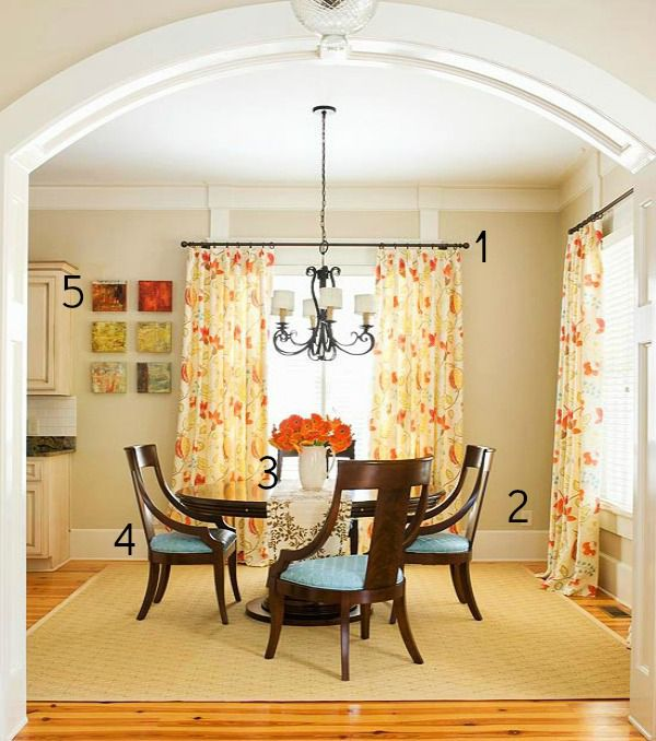 5 Ways To Get This Look: Casual Dining Room