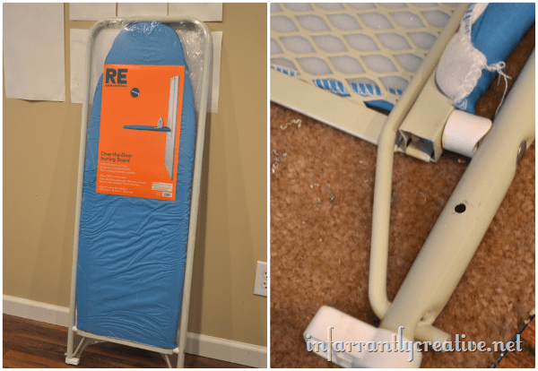 Wall Hanging Ironing Board wall mount ironing board for cheap! - infarrantly creative