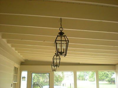 All About Vignettes porch light