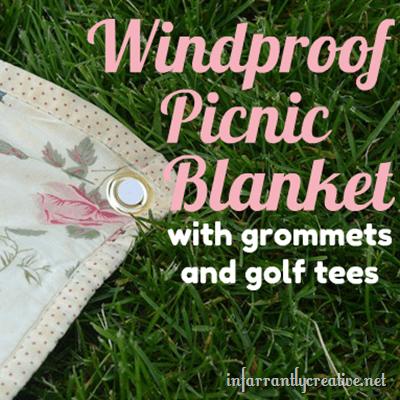 windproof picnic blanket