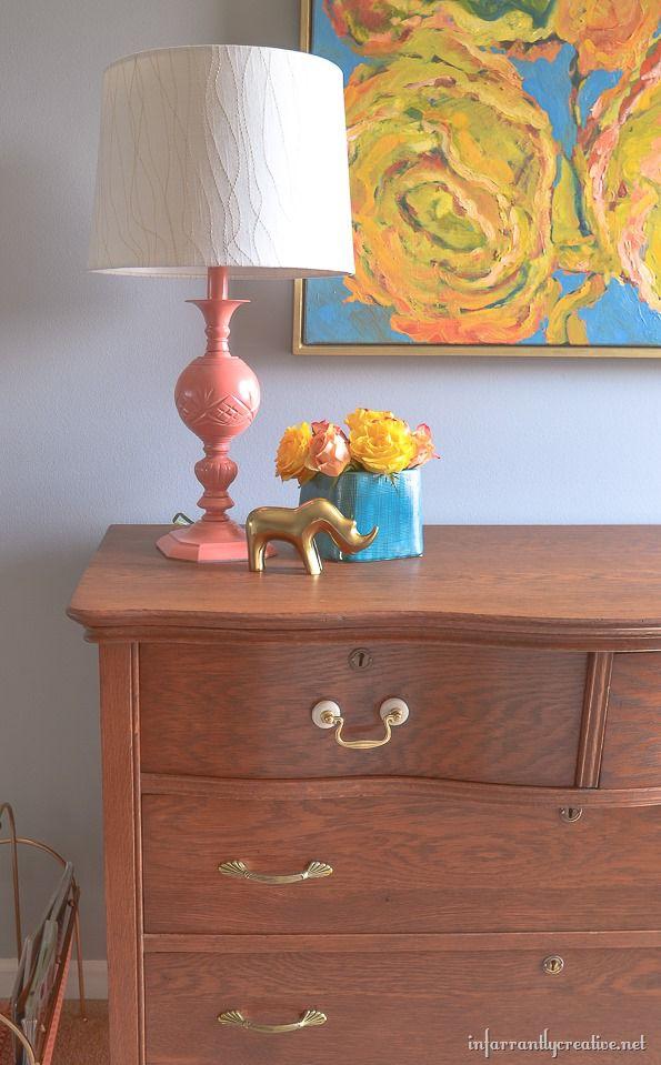 Restor-A-Finish on a Serpentine Dresser