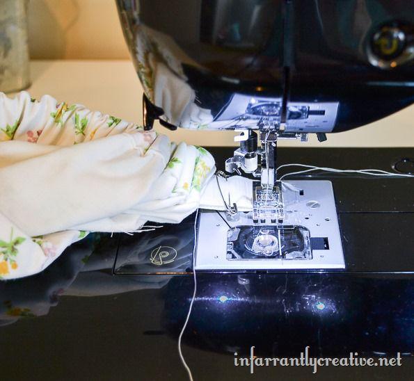 making a skirt