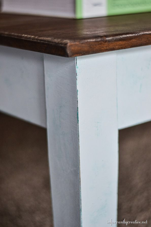 Layered Chalk Paint
